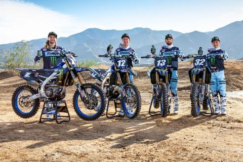 2020 AMAスーパークロス選手権 250SX Monster Energy Star Yamaha Racingが2020年で連覇を目指す