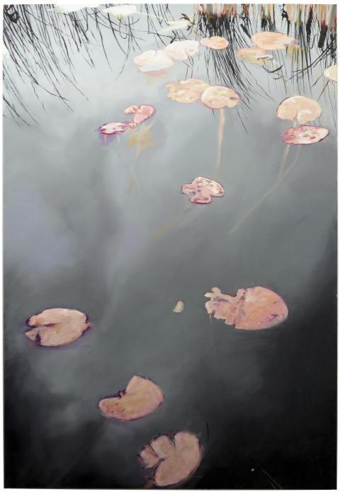 Sara-Vide Ericson, Surface, 2017, 160x110cm