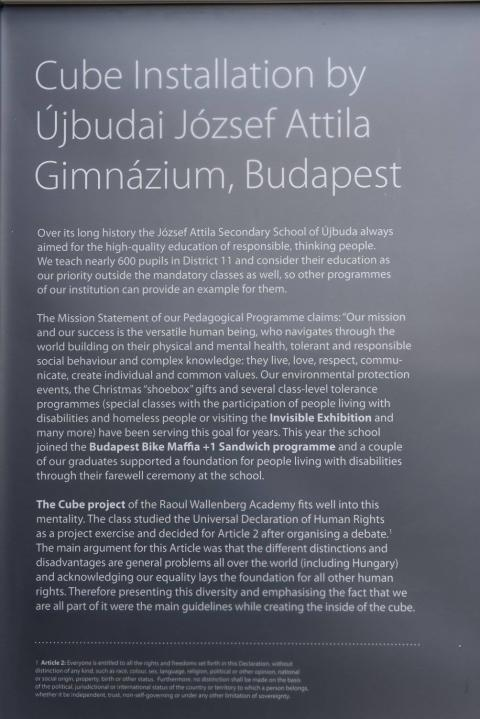 Cube in Budapest