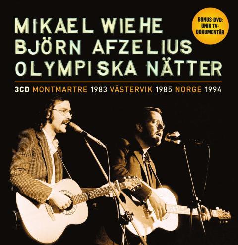 Olympiska nätter med Wiehe och Afzelius