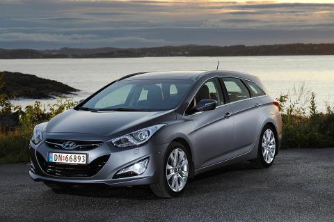 Fem stjerner til Hyundai
