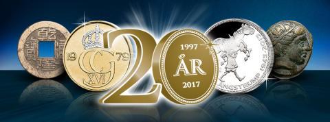 Mynthuset Sverige fyller 20 år
