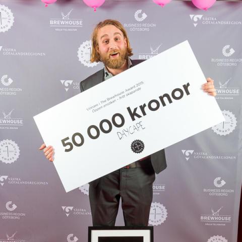 DayCape, vinnare 1:a pris Öppen kategori The Brewhouse Award 2015