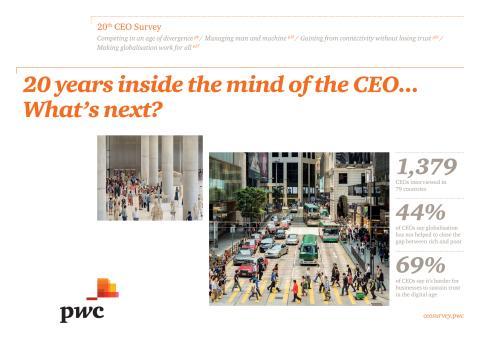 PwC's CEO Survey Report 2017