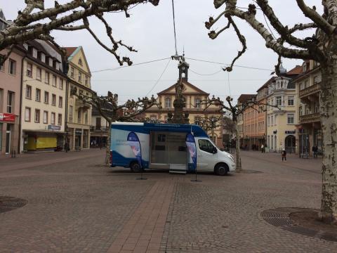 Beratungsmobil der Unabhängigen Patientenberatung kommt am 25. Juni nach Rastatt.