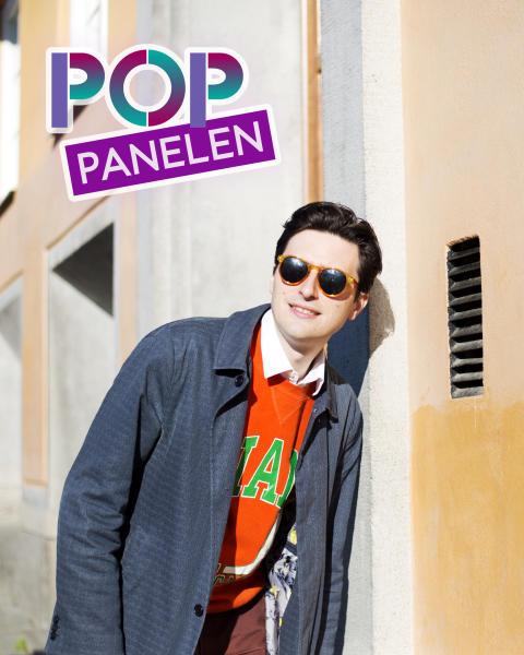 Pressbild Pontus de Wolfe - Pop-panelen