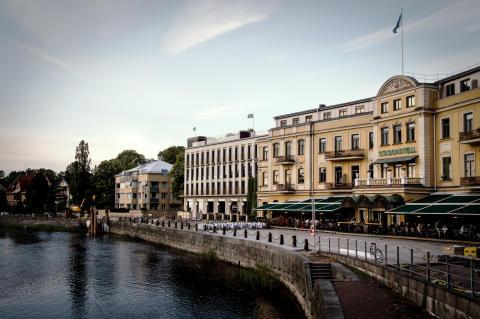 Stadshotellet Karlstad får pool och bar på taket