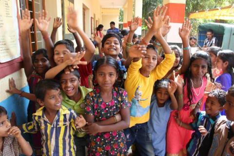 QNet opened a children's health camp in India / QNet открыл детский оздоровительный лагерь в Индии