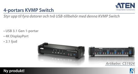 KVMP Switch med oöverträffad prestanda