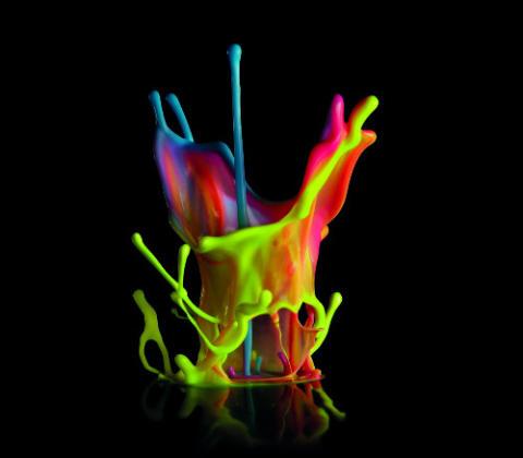 Färgskulptur
