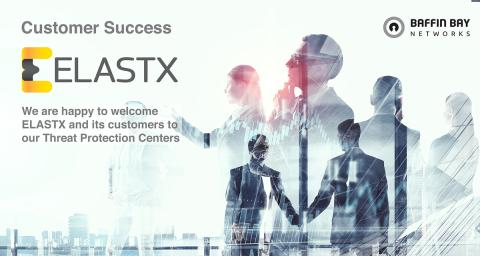 ELASTX selects Baffin Bay Networks as their DDoS Protection and Threat Intelligence platform