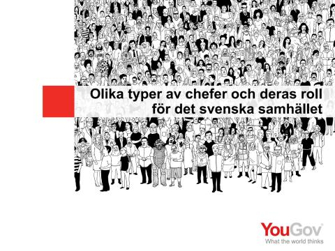 UR:s undersökning: Svenskarnas syn på rektorn och andra chefsyrken