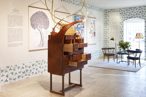 Svenskt Tenn interprets research from Beijer Institute through art