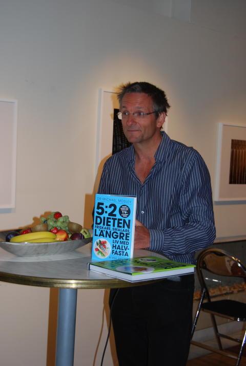Michael Mosley till Stockholm den 3 sept