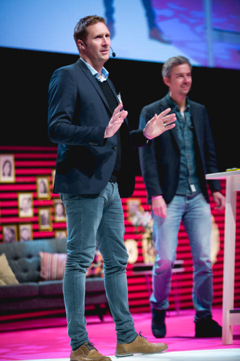 Karl Andersson, vd, och Ulf Skagerström, marknadschef.