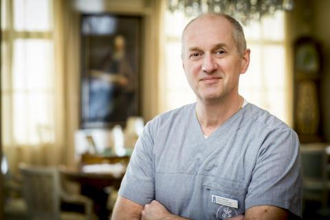 Claes Wirgin, allmänspecialist på Försäkringsmottagningen vid Sophiahemmet