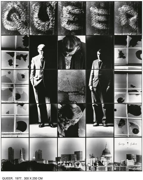 Gilbert & George, QUEER, 1977