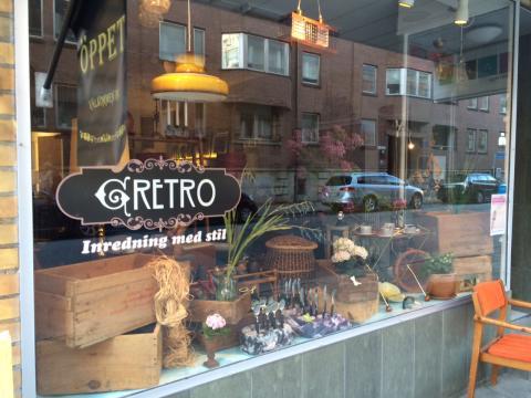 Retrobutiken – gRETRO – firar 1 år