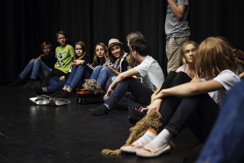 Teaterkollo på Unga Teatern