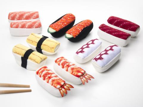Sushisokker! Wasabi? Jo, jeg sa sushisokker!