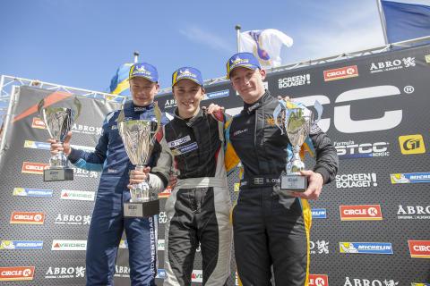 Norskt hopp om nya segrar på hemmaplan när Formula STCC Nordic gästar Rudskogens Motorsenter
