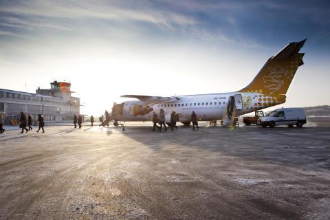 Bromma Stockholm Airports trafikstatistik för januari