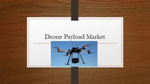 Drone Payload Market Growth Factors, Latest Rising Trend, Market Challenges, Key vendor analysis, Market Development