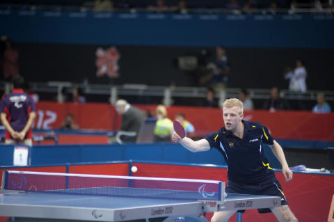 Linus Karlsson, vid London Paralympics