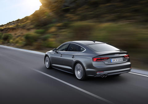 Audi A5 Sportback Daytona Grey