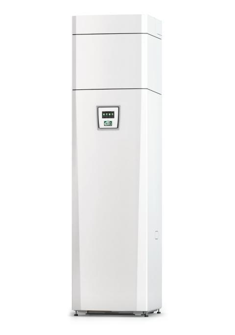 CTC EcoVent i350F, ett nytt smart och tystare koncept för hus med frånluftsvärme.