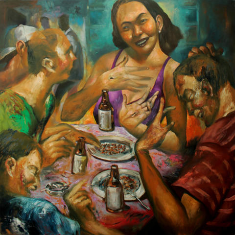 """Konstutställning i S:t Petri kyrka: Emmanuel Garibay """"För att världen ska leva"""""""