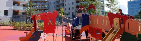 Vi firar nya Bjeredsparken med cirkus!
