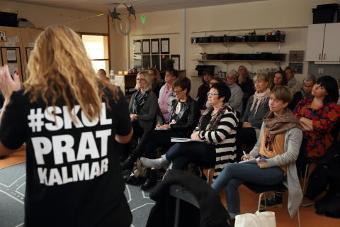 Lärare i Kalmar kompetensutvecklar varandra
