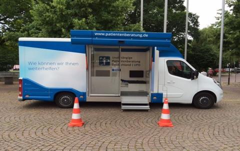 Beratungsmobil der Unabhängigen Patientenberatung kommt am 8. März nach Uelzen.