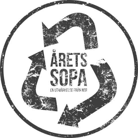Årets sopa - logotyp EPS