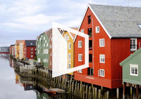 Moderat boligprisutvikling i Trondheim
