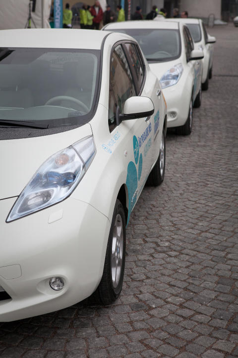 Öresundskraft ersätter egna fossilbilar med solbilar
