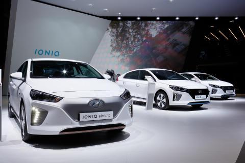 Hyundai IONIQ på Paris Motor Show 2016