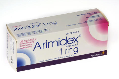 Arimidex 1 mg 98 tabletter