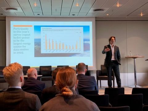 Giordano Albertazzi at Datacloud nordic 2019