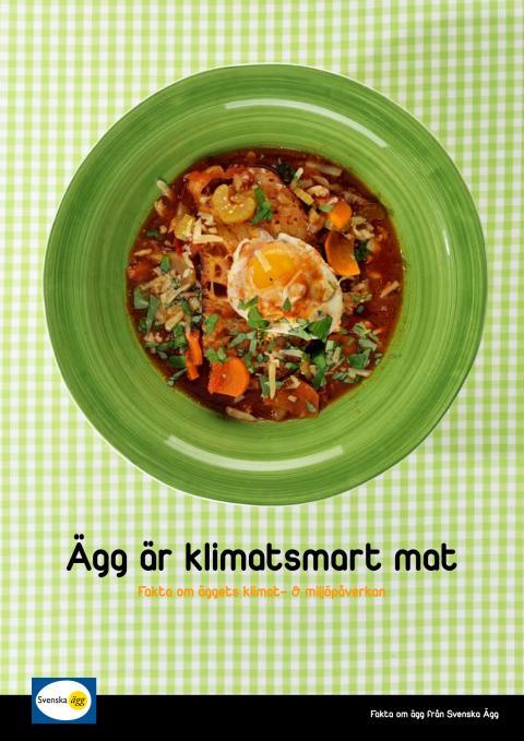 Ägg är klimatsmart mat - fakta om äggets klimat- & miljöpåverkan