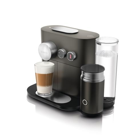Nespresso Expert & Milk Anthracite Grey