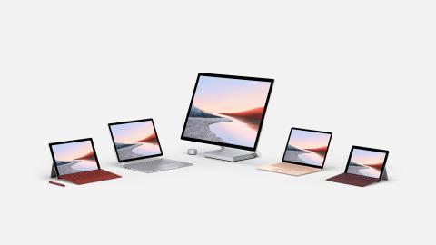 Microsoft lanserer nye Surface-modeller og en ny kategori med brettbare produkter