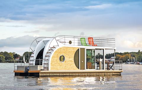 Husbåt i Tyskland/Berlin