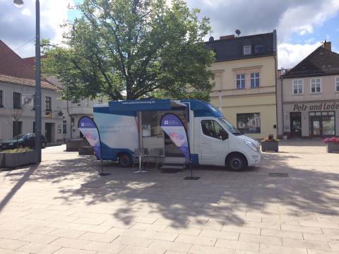 Beratungsmobil der Unabhängigen Patientenberatung kommt am 30. Januar nach Eberswalde.