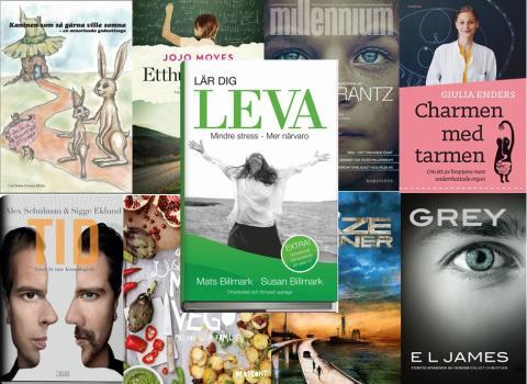 Bokåret 2015 – de är årets mest sålda böcker!