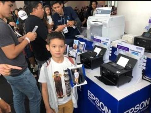 Epson in Junior Runway 2018 Summer Search activity