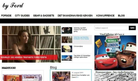 Check it out... by Ford, nyt univers med fokus på livsstil