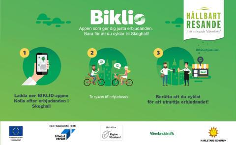 Biklio till Hammarö - Belönar den som cyklar