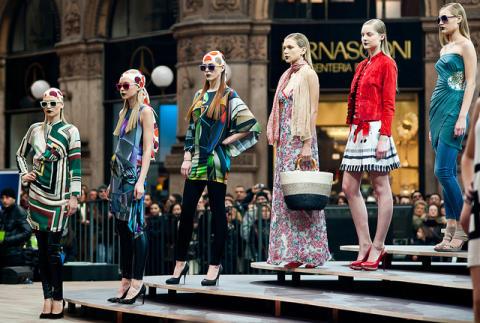 Med fokus på shopping och mat, vi pratar om Milano